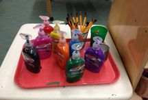 Preschool Art Area