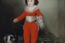 Painters: Spanish: Goya, Francisco de Goya y Lucientes / by Marcelo Guerra