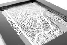 Stainless Steel Desk Maps! / Really amazing gifts for the map lover inside of everyone!