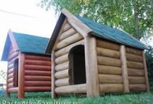 Dog houses - Drvene kucice za pse