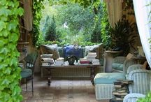 Outdoor Living Spaces / by Wendy Evans