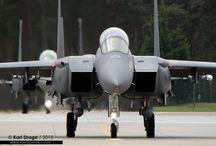 F-15E Strike Eagle /  00-3000 / LN - Boeing F-15E Strike Eagle - 494th FS, 48th FW, USAFE  It's always a bonus