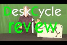 DeskCycle Canada / Reviews and images of the DeskCycle at offices around Canada