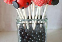 Birthday ladybug theme
