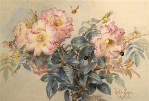 PAUL DE LONGPRE - Flowers