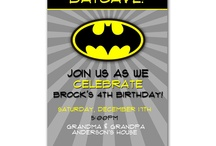 James' 4th Birthday/Batman