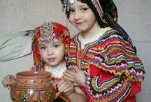 فستان قبايلي اطفال