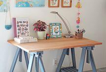 Home Office - Escritório em casa / Várias  inspirações para um Home Office estiloso