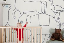 kids wallpaper / wallpaper especially fab for kiddo's space / by One Hungry Mama