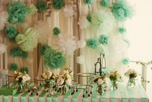 Journey of Love / A beautiful setting of Green and White themed wedding we planned in Scarlett Weddings.