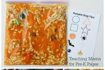 Pumpkin Theme / Activities, ideas and printables for you pumpkin unit!