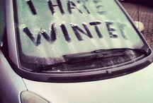 i hate winter