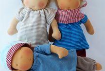 Michel - Waldorf Puppen / handgemachte Spielpuppen in Anlehnung an Waldorf handmade dolls for soul and play