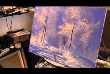 видео уроки живописи