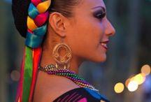 Peinados mexicanos tradicionales