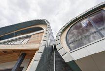 Sailor House/Архитектурное Бюро Романа Леонидова / проект современного дома с панорамными окнами