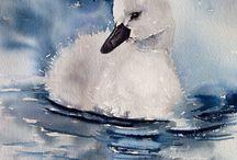 Aquarelle Painting