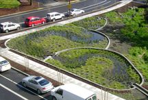 Stormwater Detention and Wetlands / Pictures of detention structures like ponds and wetlands