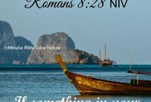 ♥ Romans ♥ / These 1-minute devotions are based on Scripture passages from Romans.