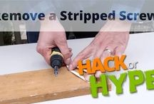 Hack or Hype / Renovation and real estate expert Scott McGillivray puts common House Hacks to the test in this new video series. / by Scott McGillivray