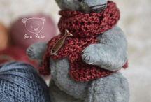 Teddy toys (Bon Bear) / My handmade