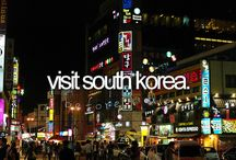 O n e d a y . . / ..I'll travel to South-Korea, Japan, Spain... everywhere! - Here is places where i want to go and see.