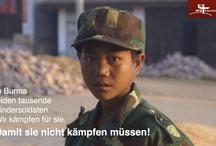Burma/Birma/Myanmar / In keinem anderen Land leben so viele Kindersoldaten wie in Burma. ora international setzt sich für sie ein und unterstützt Kinderheime, in denen die oft schwer traumatisierten Mädchen und Jungen Zuflucht finden. Wir machen aus Kindersoldaten Patenkinder! Leider können wir nur wenige Bilder aus diesem mitunter sehr gefährlichen Einsatz veröffentlichen. Wir bitten dafür um Verständnis.