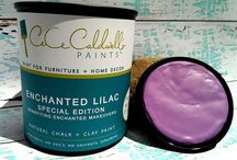 ENCHANTED LILAC / NON-TOXIC | NO VOC'S | NO SOLVENTS… NATURAL CHALK + CLAY PAINT FOR FURNITURE AND HOME DECOR #cececaldwellspaints #diy #chalkandclaypaint  / by CeCe Caldwell