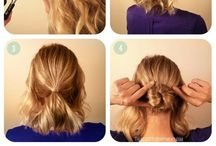 Braids for medium length hair / Fletter