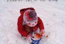 Toddler fun in snow / by Cooper Knecht