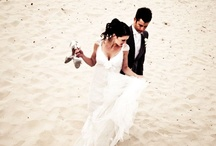 Weddings - Beach Photos / Beaches are a beautiful place for wedding photos especially with Sydney's exceptional choice of white, sandy and rocky outcrop beaches / by Pierre Mardaga