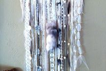 white dream catcher diy