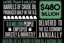 Oil and Gas Industries / Drillers, Refiners, Inspection/Testing Companies, Gas Stations, Engineering...this is a huge industry with a variety of audiences and opportunities. More than 9.8 million people are employed directly and indirectly by the industry.
