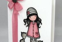 Gorjuss kaarten / Girls