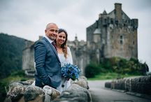 Flaviano & Camilla 23.08.2016 / Flaviano & Camilla from Rome married at Eilean Donan Castle 23rd August 2016. All images by Rosie at Love Skye Photography.