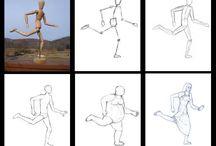 ihmisen piirtäminen