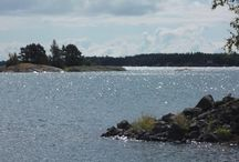 Finnish archipelago / Inspiration behind the short story, Cocktail Hour