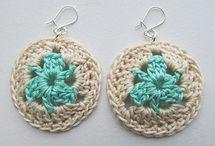 Brincos em croche | Crochet earrings