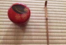 Tea ceremony and green tea