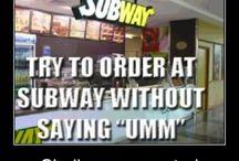 Subway Humour