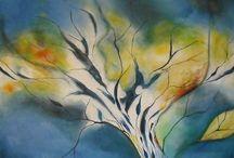 Acrylbilder im Großformat auf Leinwand - Lonny Deppe / Zu sehen gibt es hier Acrylbilder aus meinem Atelier in verschiedenen Formen und Farben.