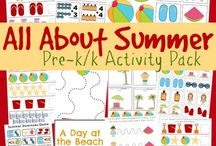 Preschool stuff for kids / Crafts, books and ideas for preschoolers. How to set up a homeschool for preschool. Ideal schedules and class plans. Tips for teaching preschool. Free printables