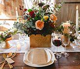 WEDDING STYLING // Midwinter Rustic