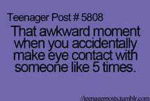 awkward moments in school