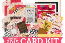 Cards: SSS October 2015 / by Cindi Lynch