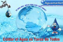 Dia del Agua / Productos para cuidar el Agua, conservarla, purificarla, tratamiento de Agua