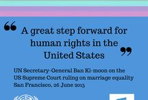 UN Free & Equal campaign for LGBT equality