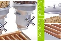 Dry Food Dipensers / Our Dispensers are the perfect solution for you.  They can be used both commercially & at home.  Great in hospitality environments, restaurants, schools, offices, waiting rooms etc. If you are wishing to offer food items in an elegant, hygienic & fresh dispenser the QEC can help you. (Cereals, dry food, sweet & salad toppings, candy, coffee, sugar, grains etc.)   Our Dispensers are used in a variety of retail settings, both behind the Counter or self serve on the Buffet.