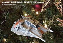 Star Wars Décor / There are crazy amounts of Star Wars decor and decorations available for purchase.  On our blog we share pictures from our personal collection, or things we wish was in our personal collection. Check it out!  http://maythefourthbewithyoupartyblog.com