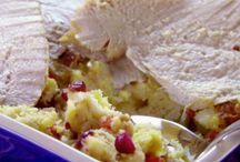 NO FUSS THANKSGIVING Turkey/stuffing casserole